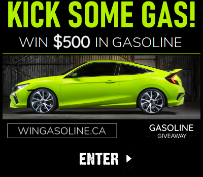 Win Gasoline with Sweepstakes.ca